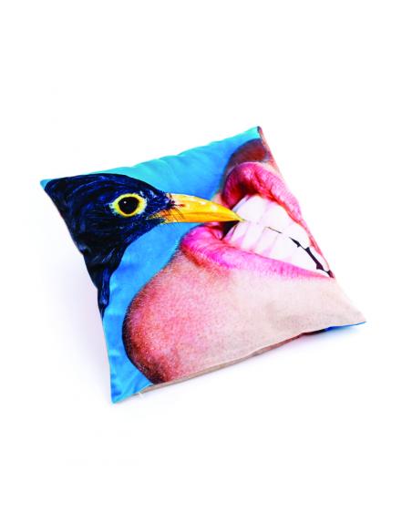 SELETTI Toiletpaper Pillow  - Crow
