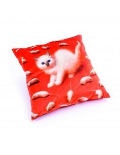 SELETTI Toiletpaper Pillow  - Kitten