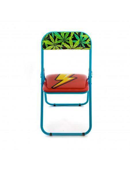 SELETTI Studio Job-Blow Folding chair  - Flash