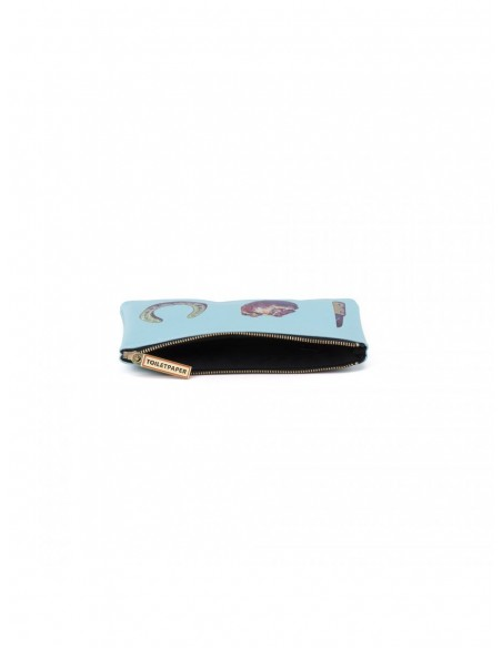 """SELETTI Toiletpaper Beauty case """"square"""" 21x15,5 - LOVE EDITION"""